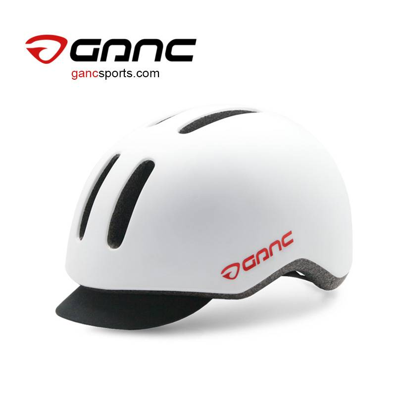 Ganc Urban Cycling Helmet with Cloth Cap - Melody