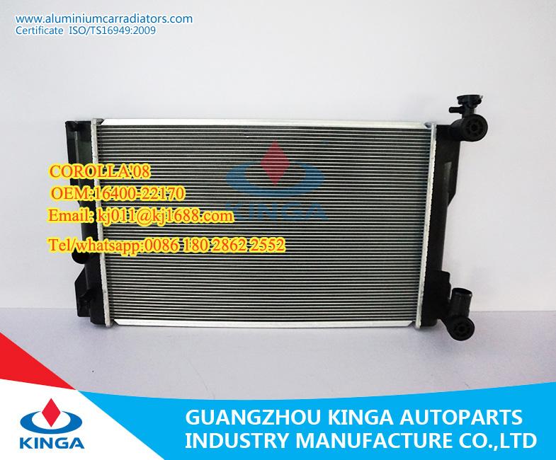 Kinga radiator TOYOTA COROLLA 08 RADIADORES AUTO radiators