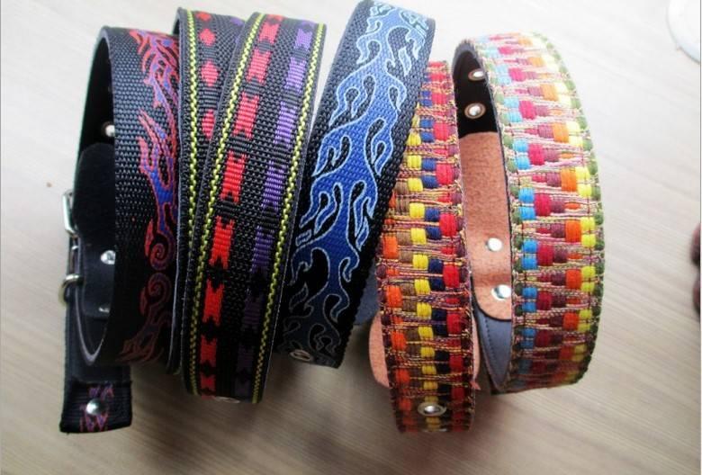 Fashion Folk Style Retro Dog Pet Adjustable Collar Neck Strap Buckle