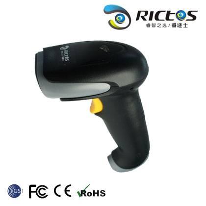 1D wired laser barcode scanner / reader Chinese manufacturer