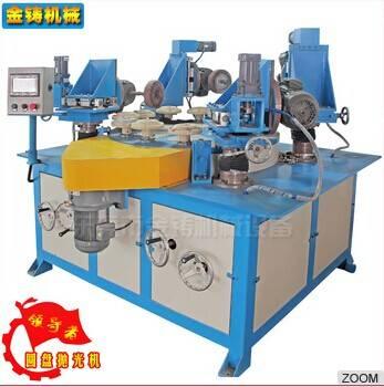 Automatic rotary brushing buffing polishing machine