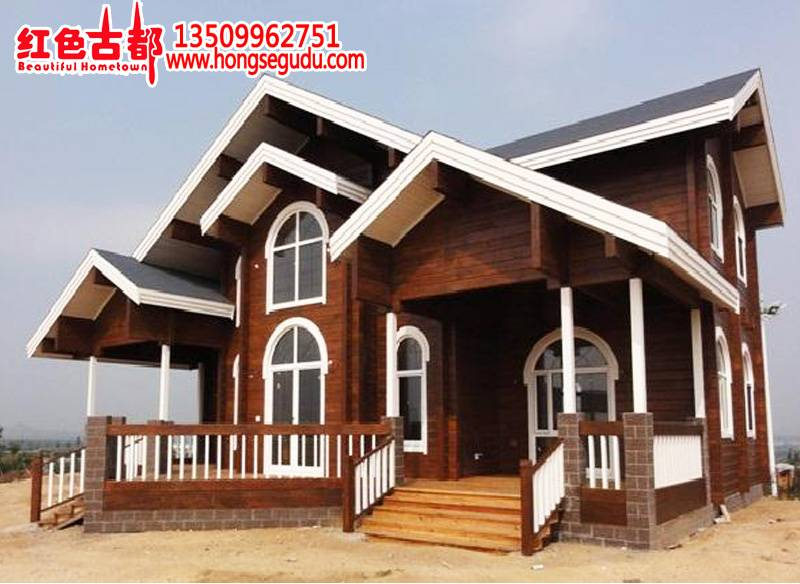 Supply Wooden  Villa, log cabin