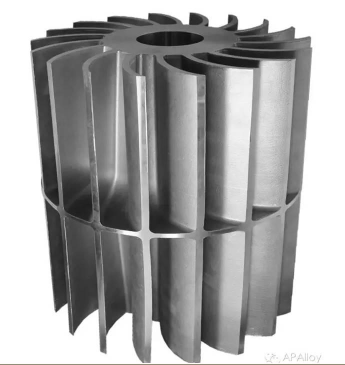 ISO9001: 2008 Ap Alloy Foundry Customized Manufacturer Precision Casting pump Part vacuum Impeller