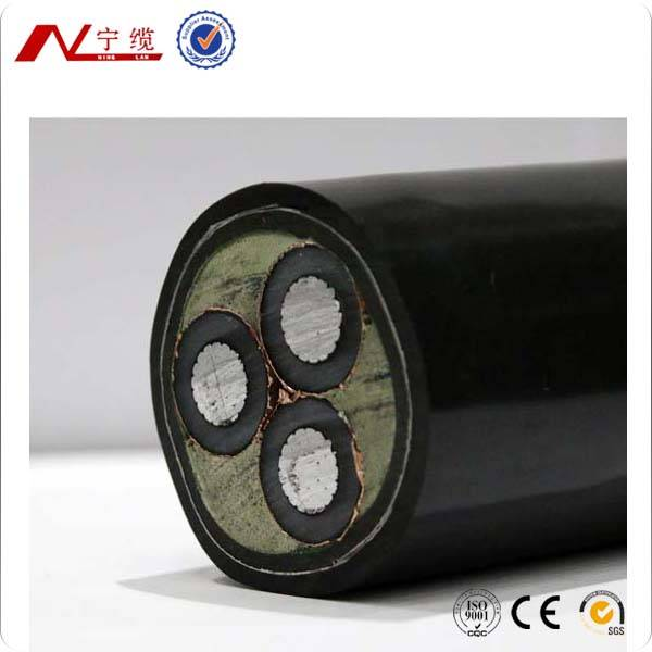 8.7/15KV AL Conductor XLPE insulation PVC sheath steel-tape armoured electric wire & cable