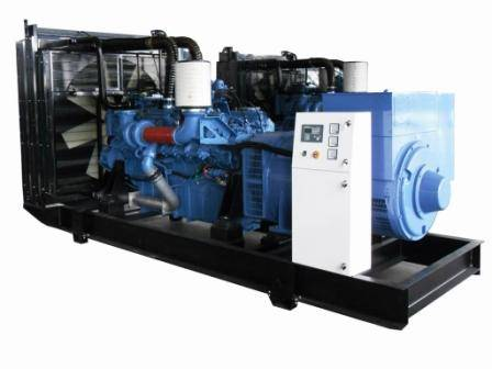 diesel generator set(MTU engine)