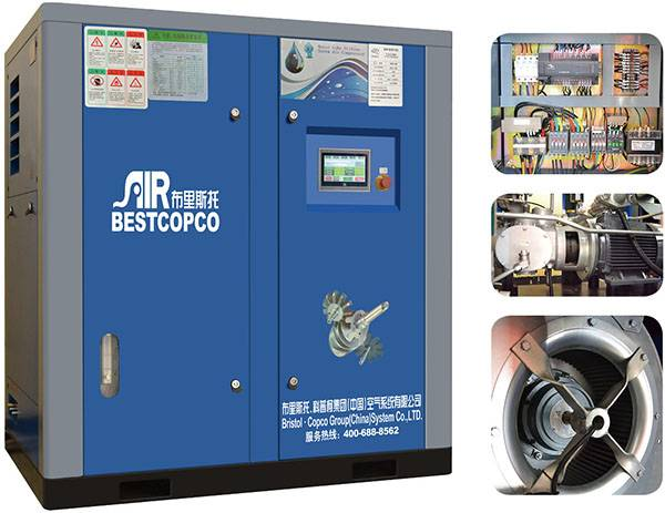 Factory supply for distributor oil free less silent air compressor