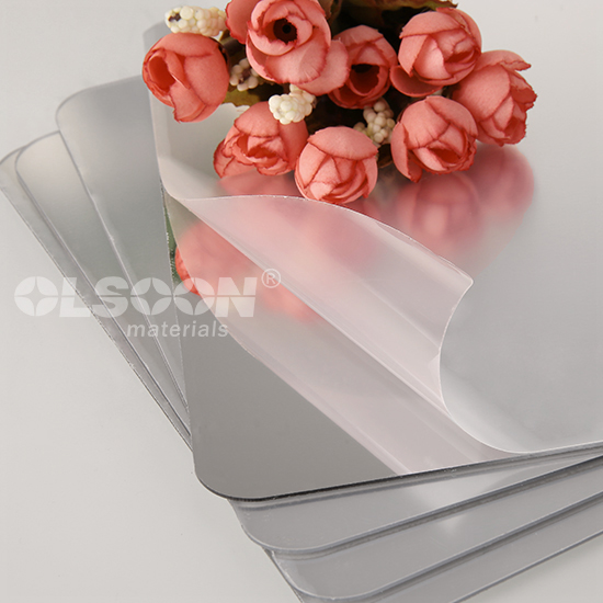Silver Colored Custom Acrylic Mirror Sheets Chinese Factory
