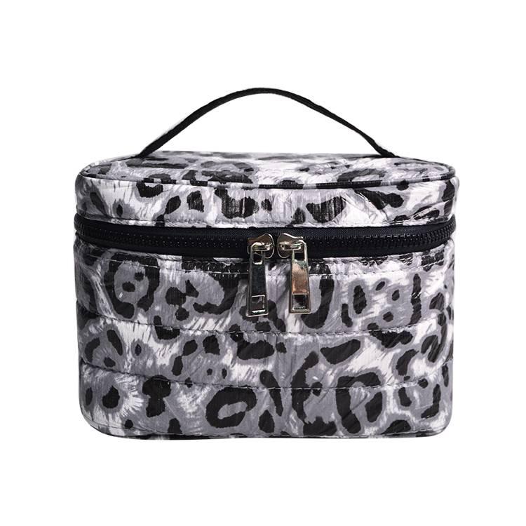 Double Zipper Travel Cosmetic Bag SRC16126B