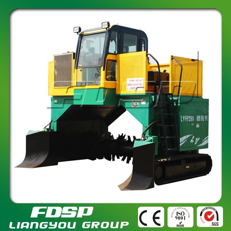 organic fertilizer animal waste compost machine