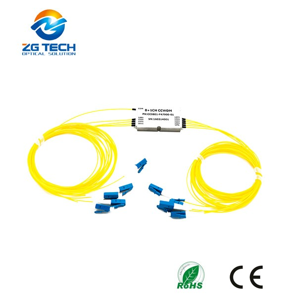 Telecommunication 18+1 Channel Mini Compact CWDM CCWDM with Express Port