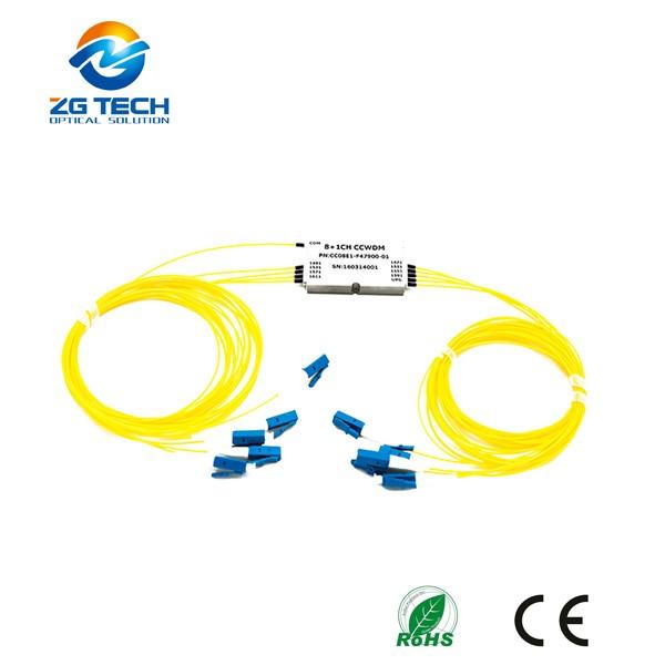 Telecommunication 18+1 Channel Mini Compact CWDM CCWDM with Express Port