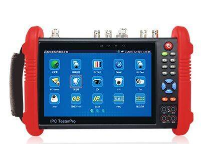 New 7 inch six in one CCTV tester monitor IP HD AHD CVI TVI SDI analog cameras tester 1080P wifi onv