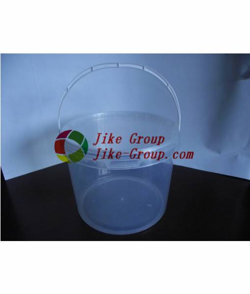 Top Quality multi-function clear round plastic buckets with lids