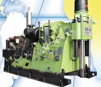 Diesel Power Type High Speed XY-8 Rock Drilling Machine