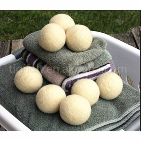 3'' wool washing balls,dryer ball