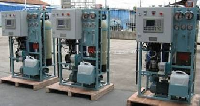 240T per day RO / reverse osmosis / seawater desalination water plant