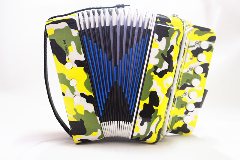 7 key 2 bass cheap and classic toy accordion for sale