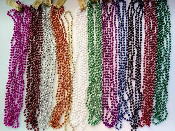 Mega Metallic Bead Necklace Assortment