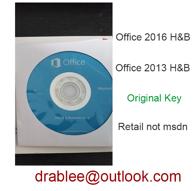 Retail office2016/2013 HB&HS Pro&OEM coa sticker