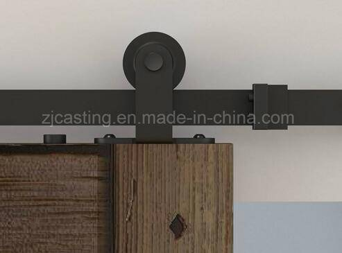 Modern sliding barn door hardware,steel wooden sliding door wheel