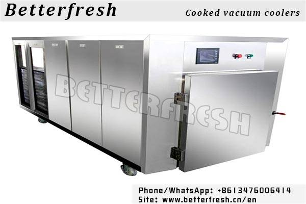 Betterfresh Refrigeration rapid pre-cooling to extend the shelf cooked vacuum coolers pre coolers fo