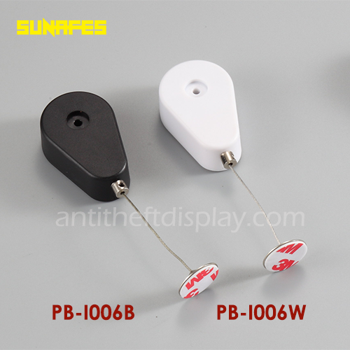 Security Display Pull Box For Cell Phone / Steel Wire Cable Reels For Security Display