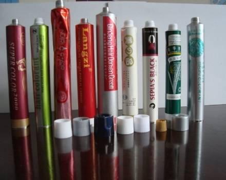 cosmetics tube aluminium