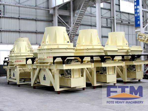 VSI Crusher/Rock Crushing Plant