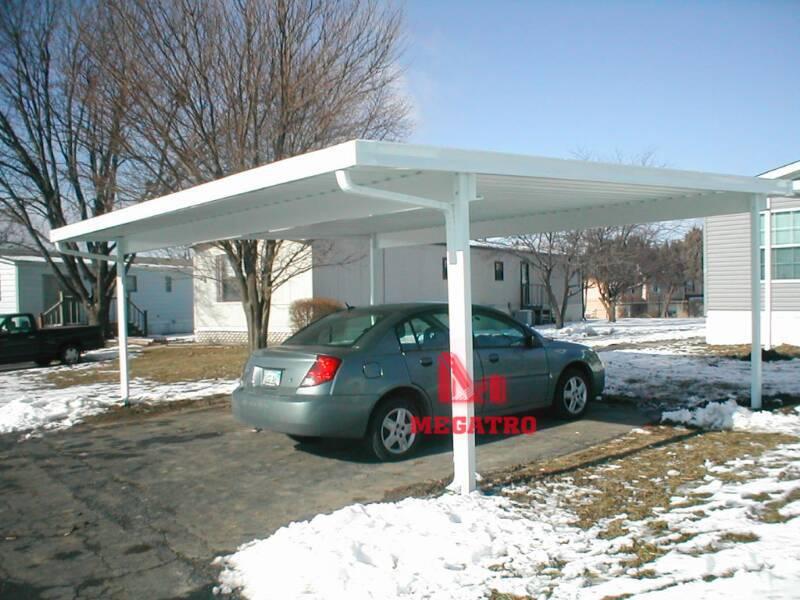 Steel garage (MGS-SG002)