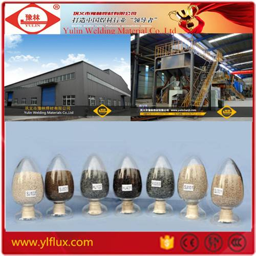 Welding fluxes Factroy Direct Sales Submerged Arc Welding flux