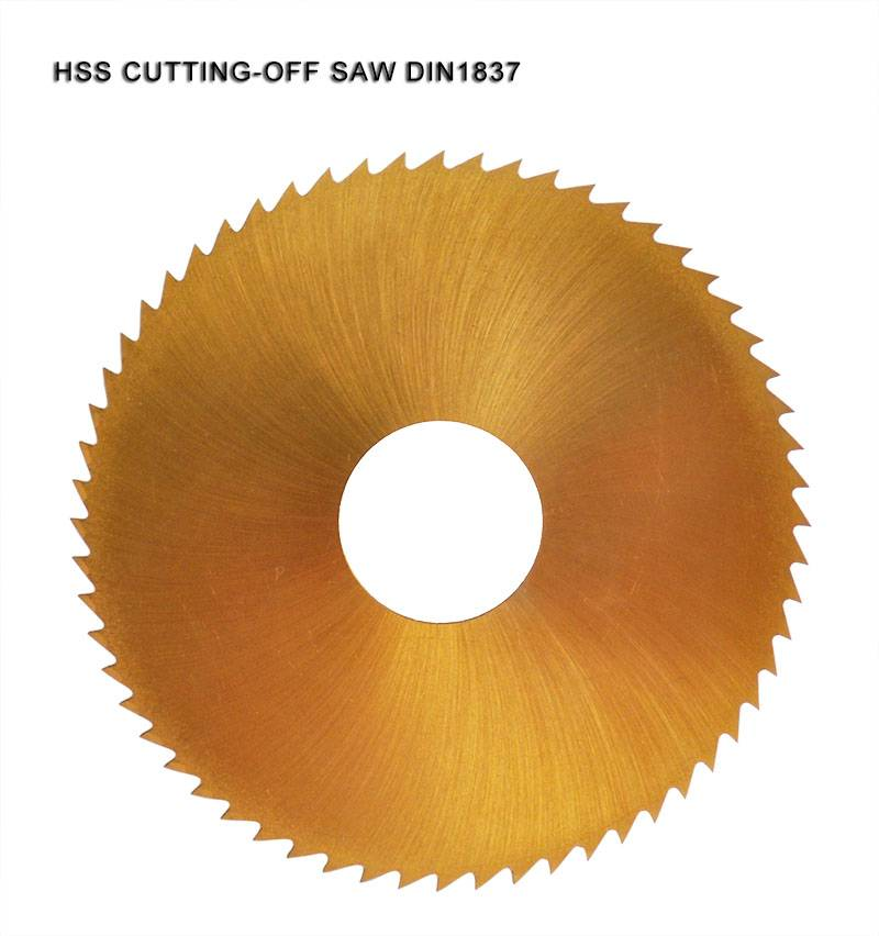 hss saw blade with tin coated
