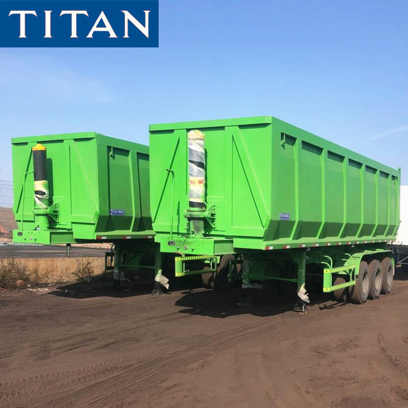 100 Ton End dump trailer for sale in Nigeria