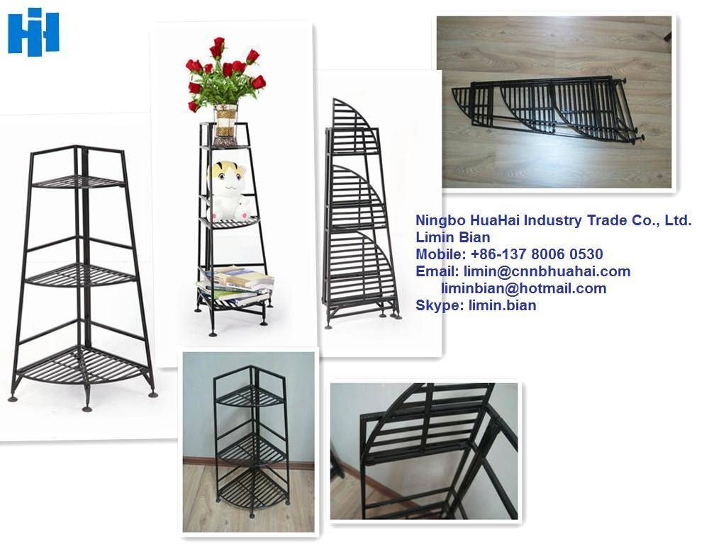 foldable storage holders and racks