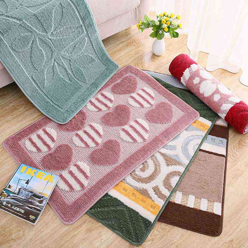 Modern Indoor Porch Door Mat Non-Slip Doormats Floor Mats Kitchen Bathroom Carpet and Rugs