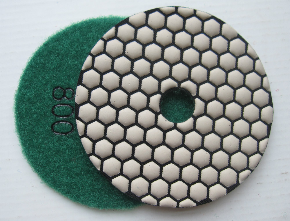 dry polishing pad
