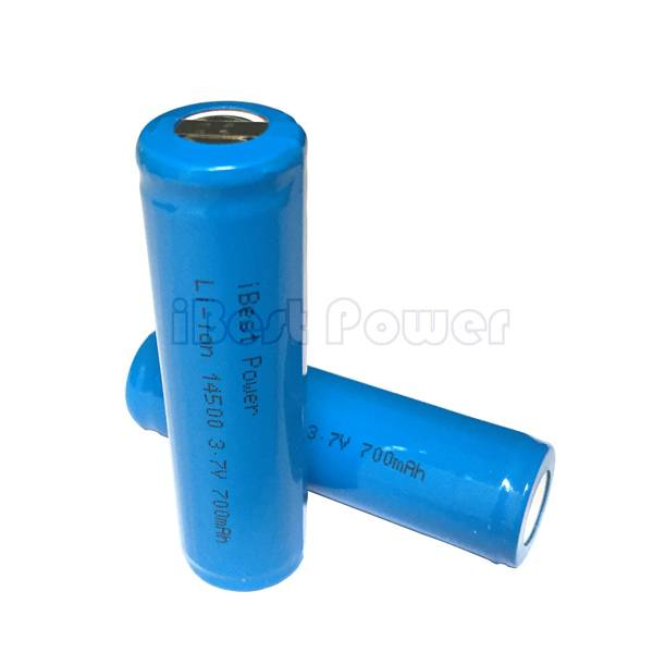 AA Battery ICR14500 with PCM 3.7V 700mAh