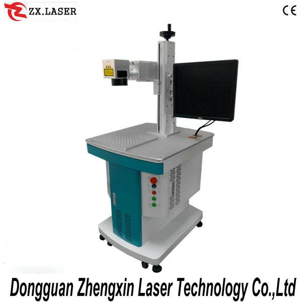 20W fiber metal laser marking machine for metal iphone cover