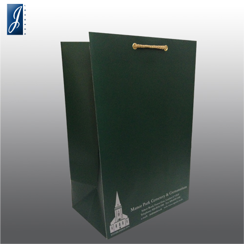 Customized medium packaging bag for MANOR