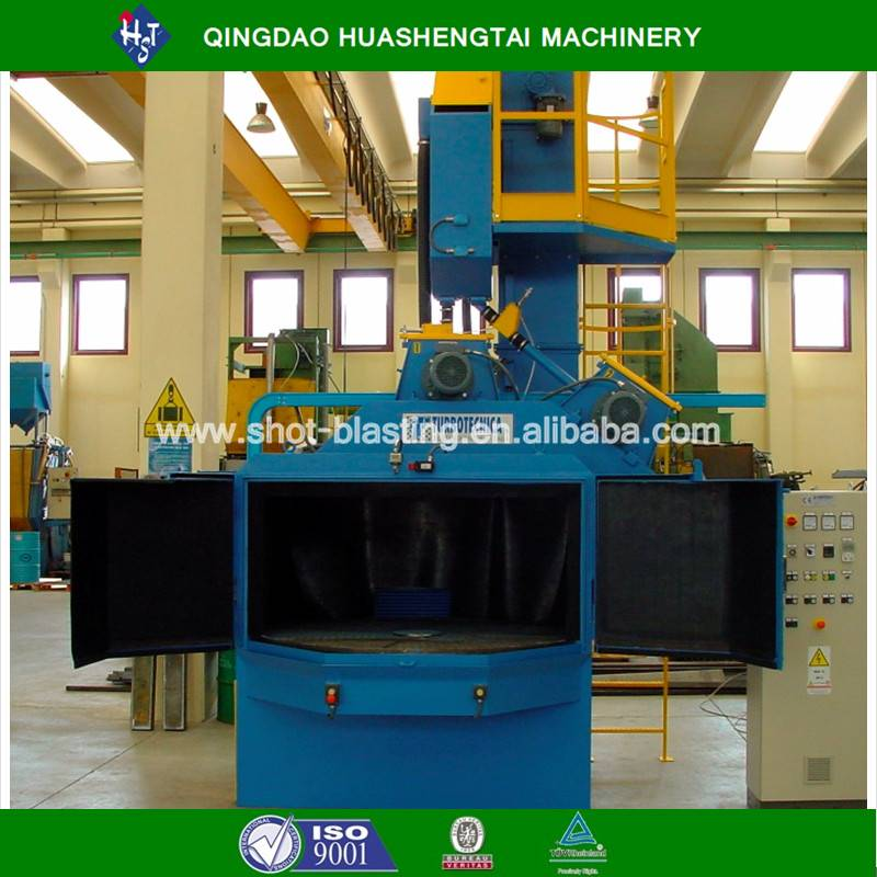 HOT high effect Turning Plate Type Shot Blast Machine