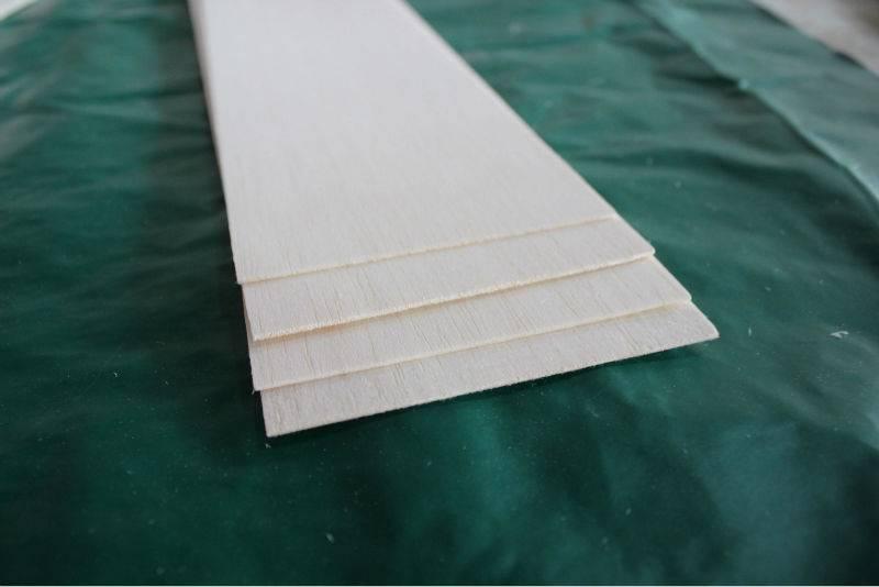 balsa wood sheet