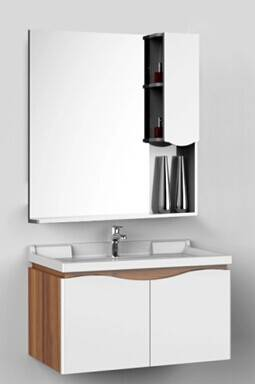 S-1508 Modern 304 Stainless Steel bathroom vanity