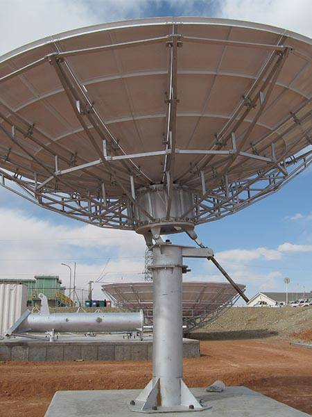 4.5M C&KU Dual Bands RxO Antenna