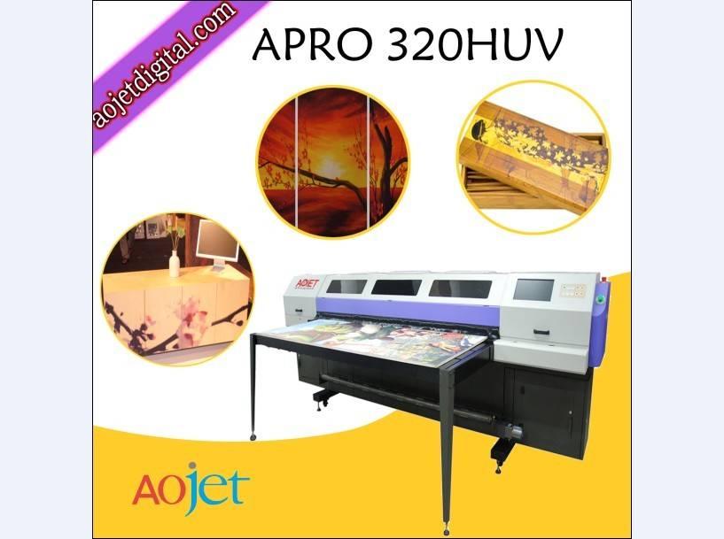 large format ceramic uv hybird printer with Konica printheads