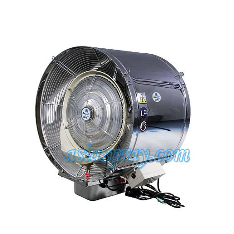 Deeri Non-oscillating suspended water sray industrial blower direct supply from factory