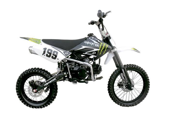 125CC dirt bike yx engine kick start