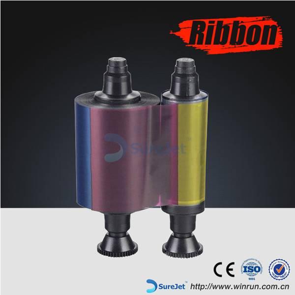 R3411 for Evolis YMCKO Color Compatible Ribbon  100 prints/roll