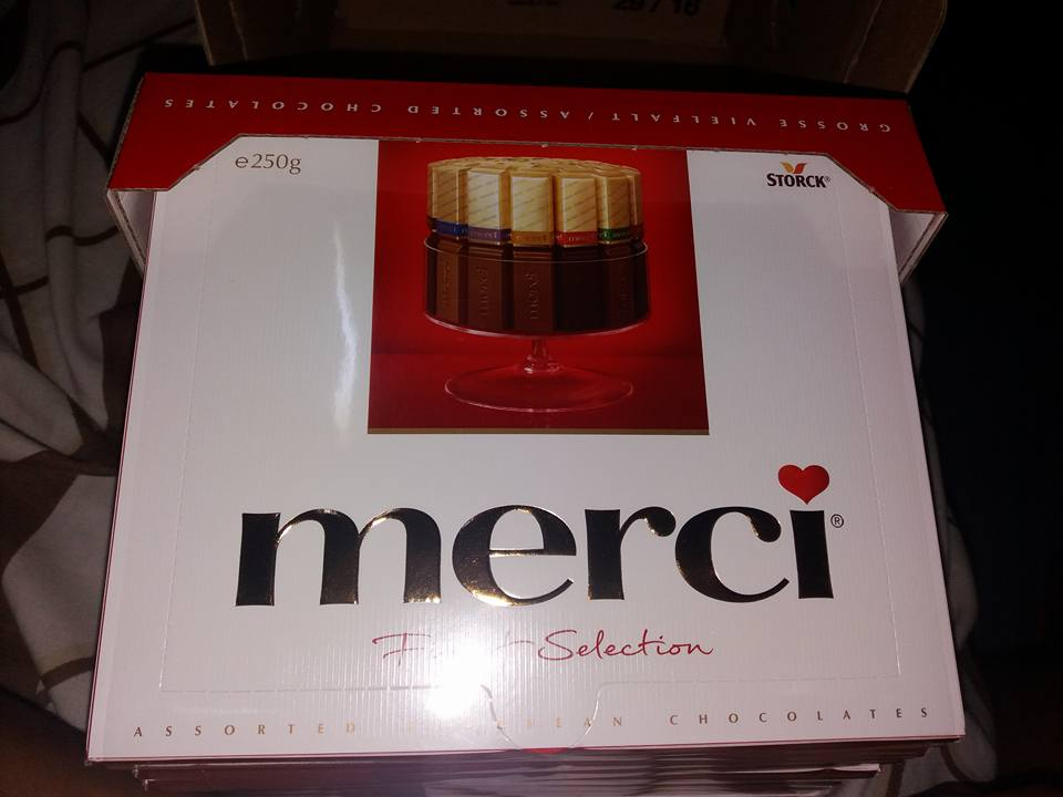 Merci Chocolate 250g