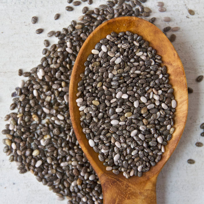 Chia Seeds, Flaxseed Seeds, Hemp Seeds, Poppy Seed