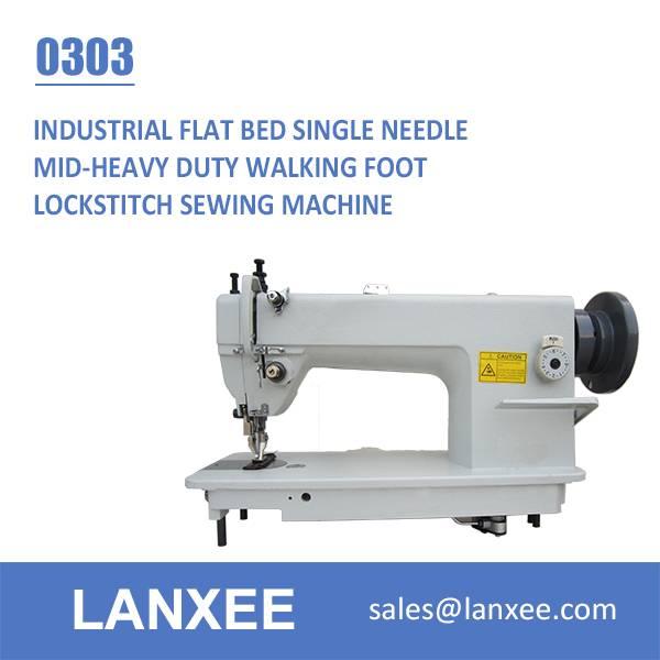 Lanxee GC0303 Walking Foot Lockstitch Sewing Machine