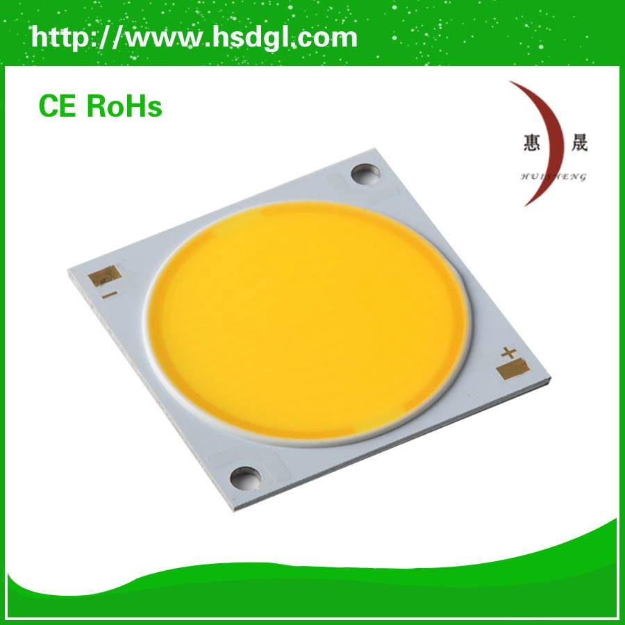 2015 new product for 3w 200mA 15v 380lm cob led chip with 2years warranty.